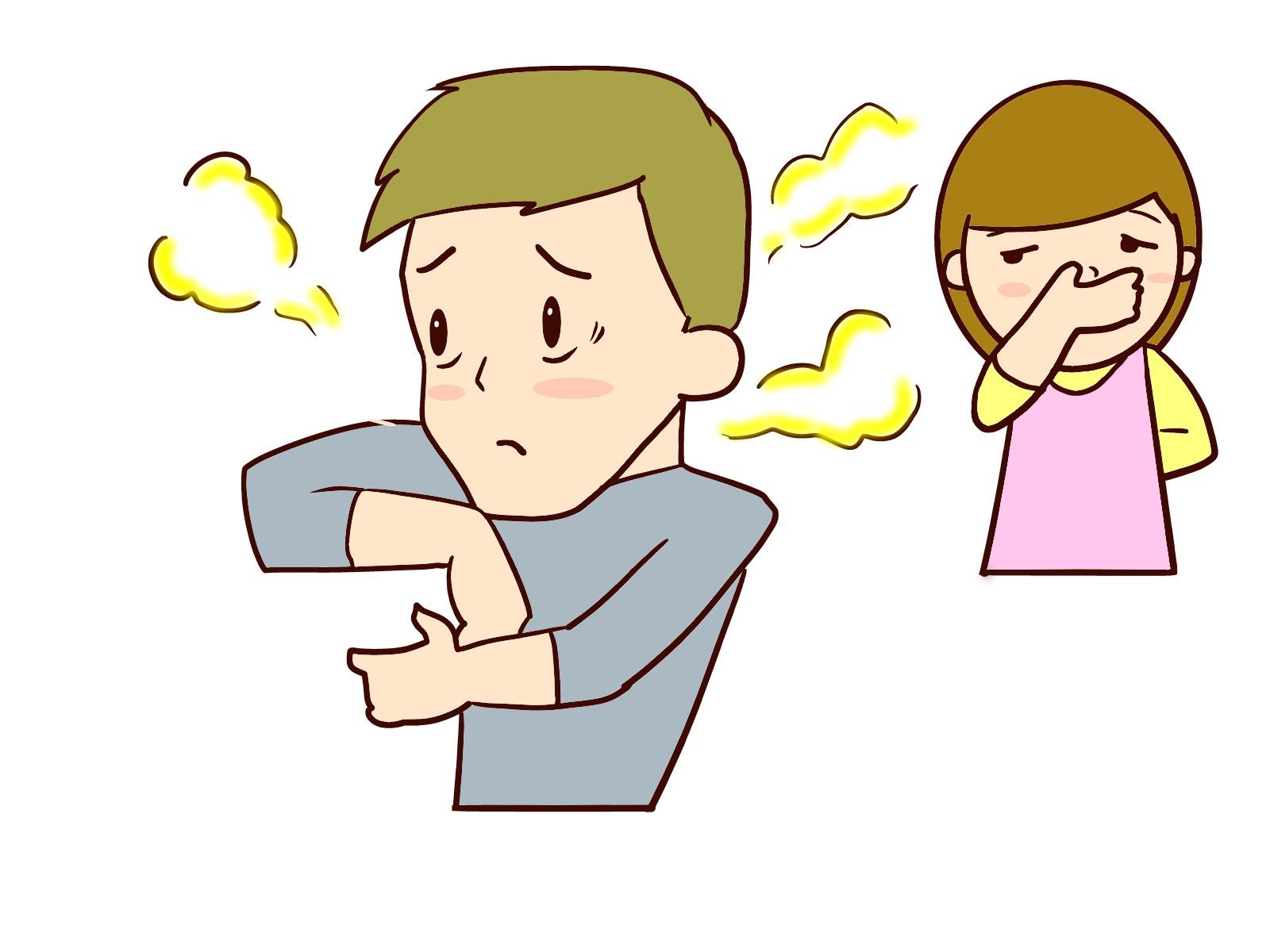 汗の匂いを消すにはスプレーかサプリか?でも、おすすめの方法はコレ!