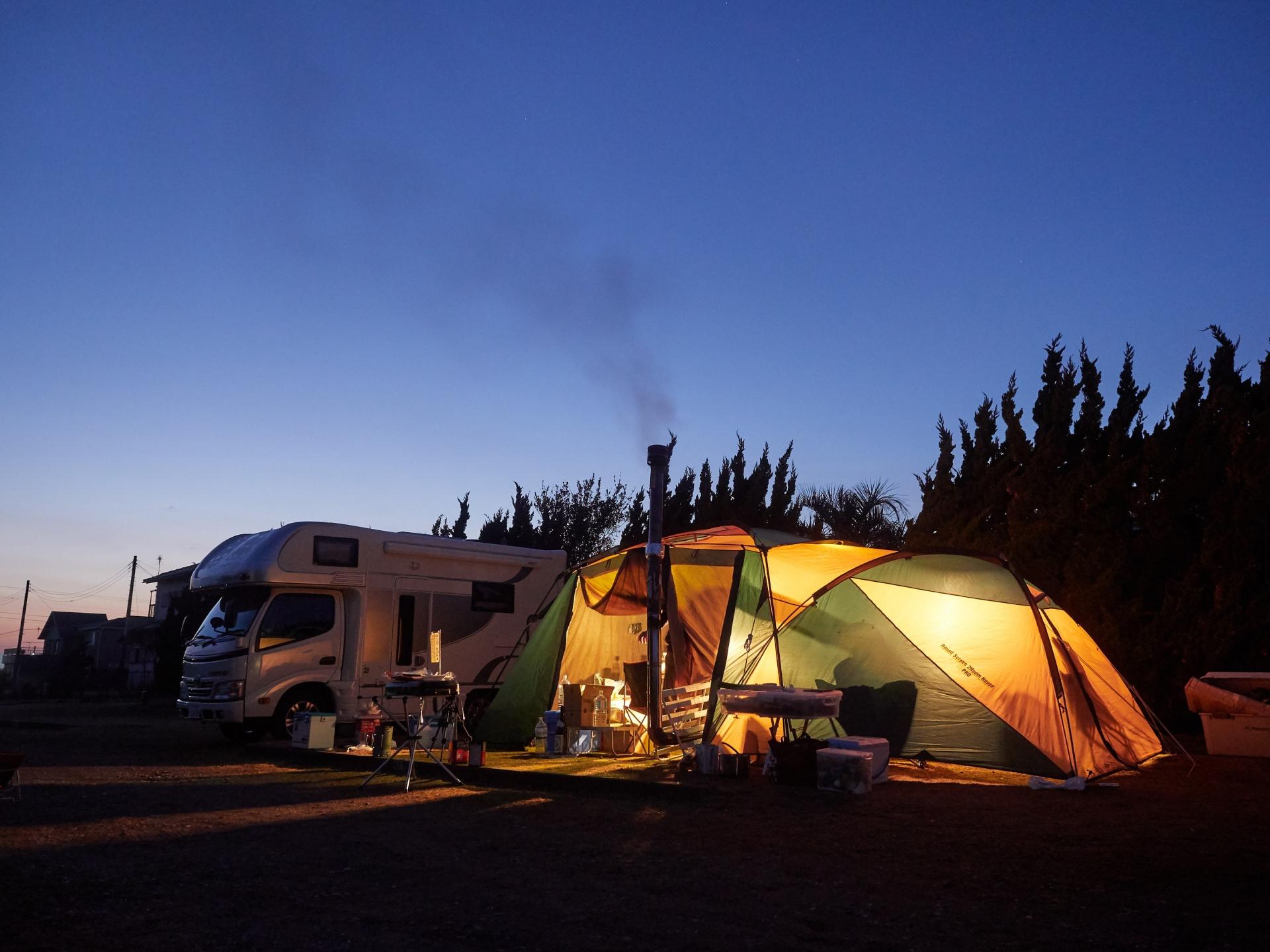 夏には涼しいキャンプ場なので中部地方と東海地方のオススメご紹介!