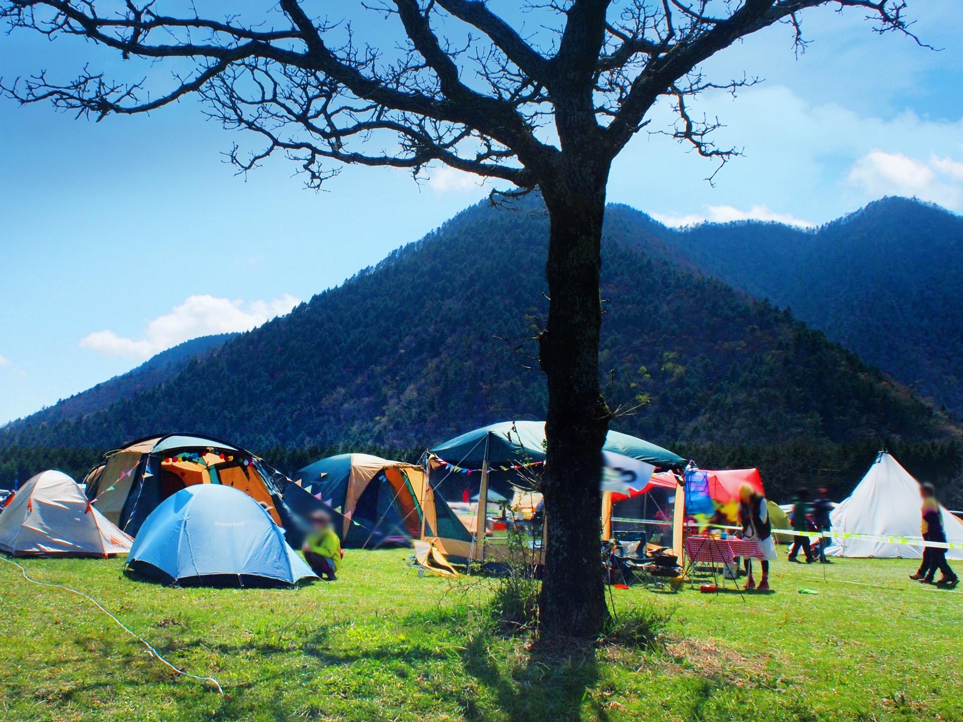 夏に涼しいキャンプ場の関西と九州と四国をふくめた西日本編