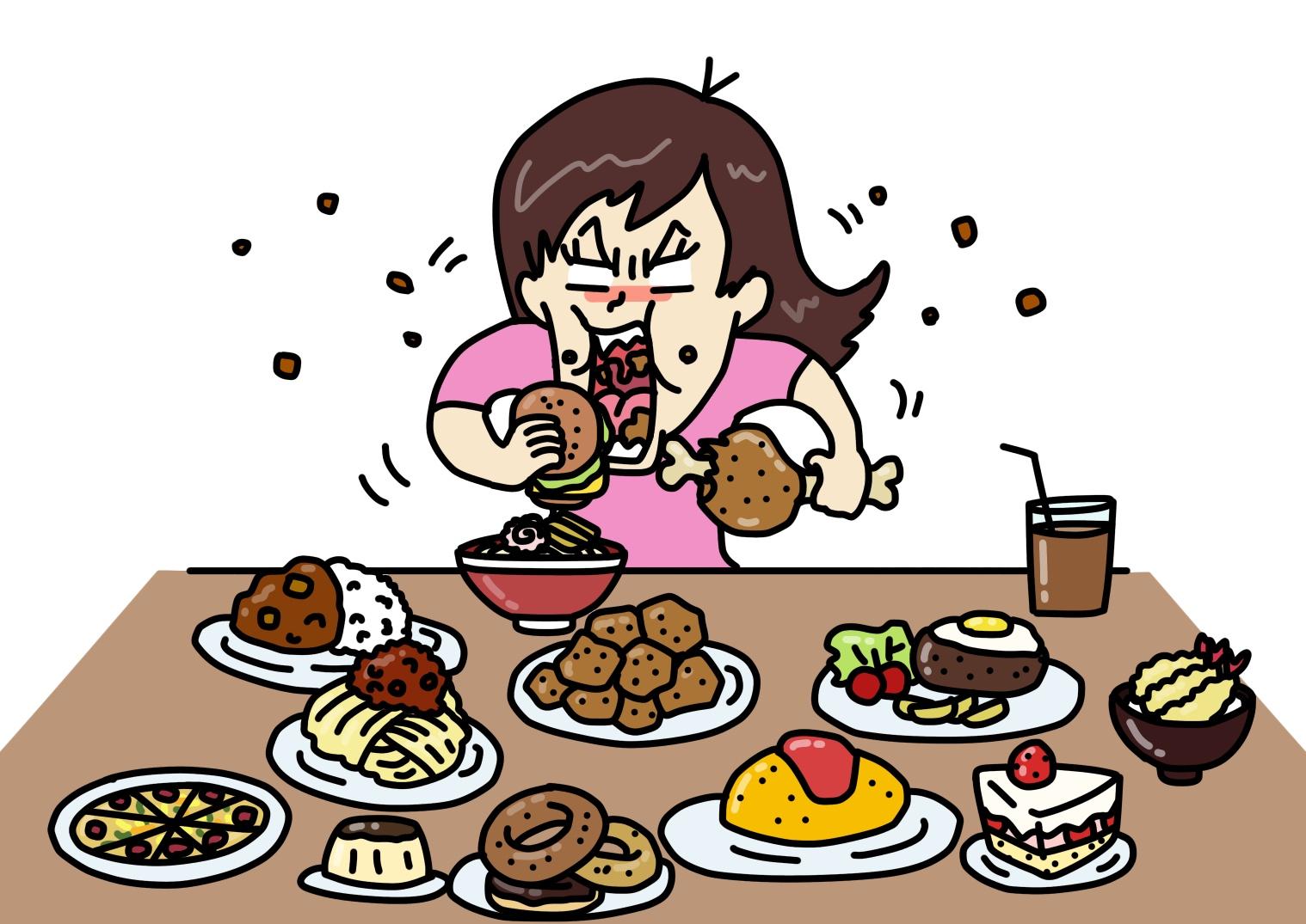 食べ過ぎで体重増加したら戻らないの?!いつ戻るのか?お答えします。