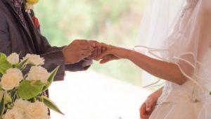 結婚式後の年賀状
